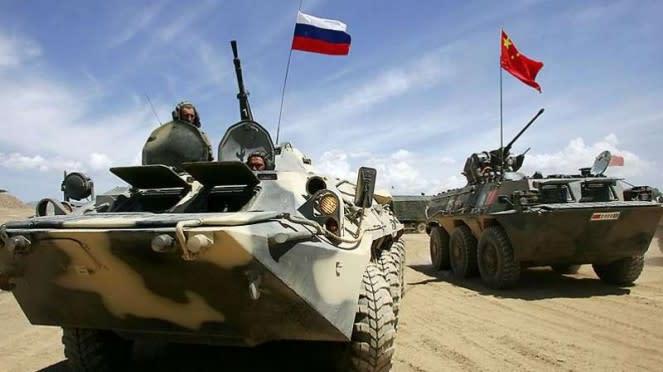 VIVA Militer: Latihan perang gabungan Rusia dan China Operasi Kaukasus 2020