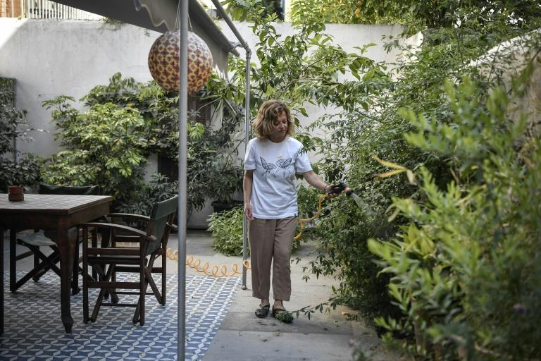 Athens Airbnb host Romina Tsitou says she may have to put her two apartments in Koukaki district up for long-term rental if the pandemic drags on