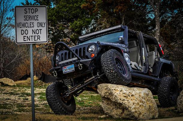 Rocking it, Jeep style: Flickr photo of the day