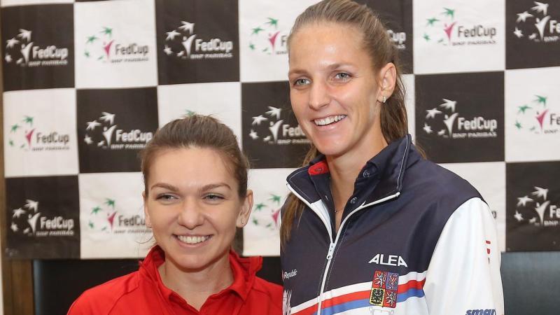 Romanian ace Simona Halep and Czech ace Karolina Pliskova are set to face-off in the Fed Cup