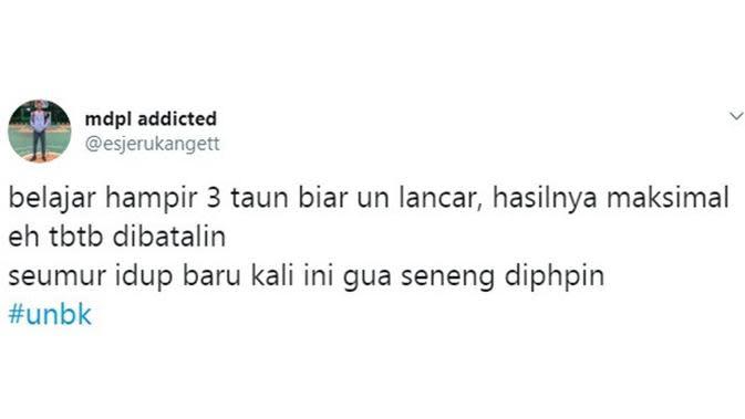 Curhatan netizen (Sumber: Twitter/esjerukangett)