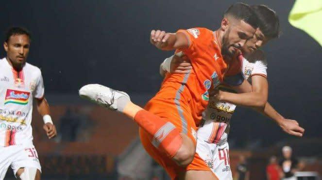 Laga Liga 1 2019 antara Borneo FC kontra Persija Jakarta