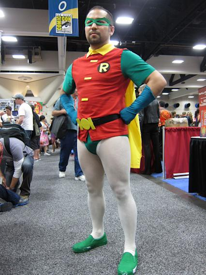 This Boy Wonder is not quite a boy anymore - San Diego Comic-Con 2012