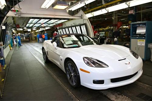 Last sixth-generation Chevy Corvette leaves the factory
