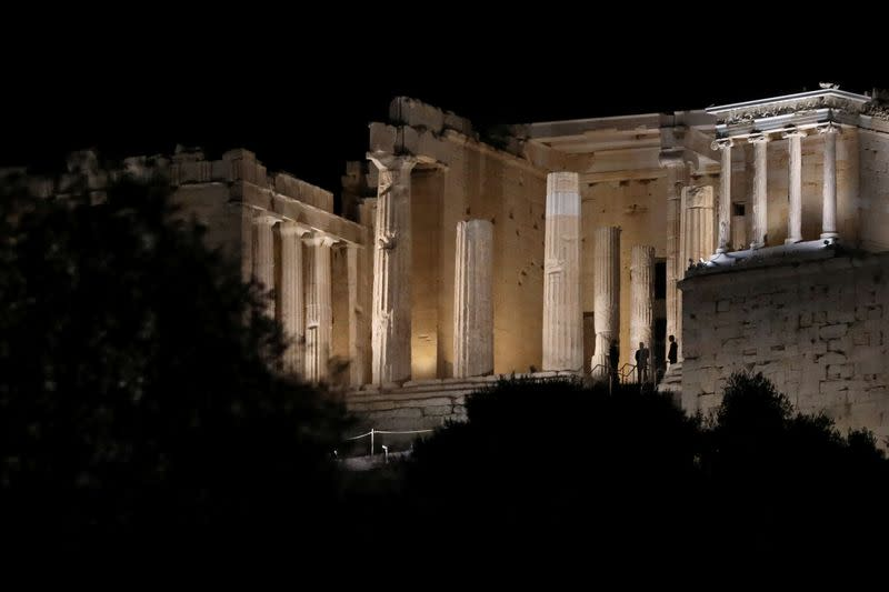 New Acropolis lighting system brightens Athens' 'eternal compass'