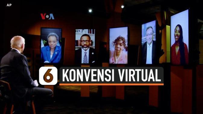 VIDEO: Pertama Kali, Konvensi Virtual Partai Politik AS di Era Covid