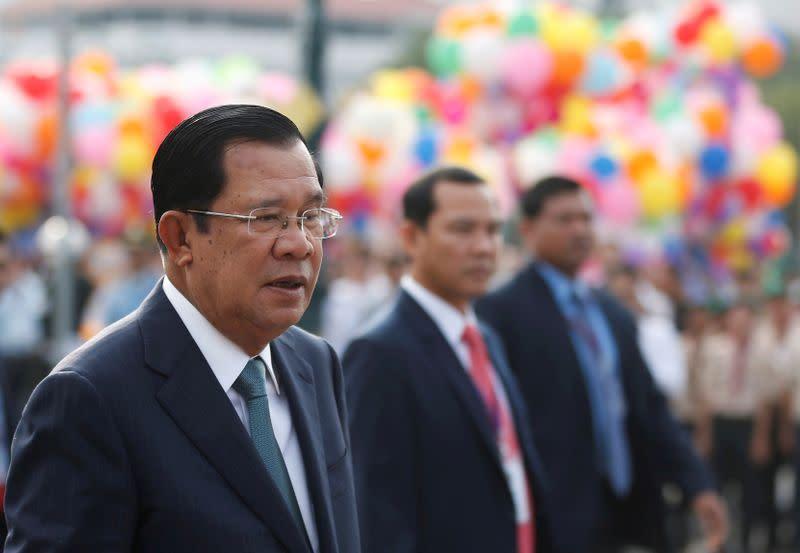 AS jatuhkan sanksi pada rekan PM Kamboja atas tuduhan korupsi