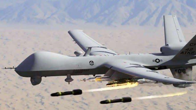 VIVA Militer: Drone MQ-9 Reaper Angkatan Udara Amerika Serikat (US Air Force)