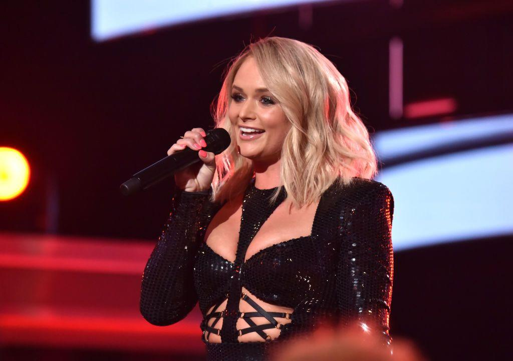"<p>Miranda and Blake have both found love since <a href=""https://www.countryliving.com/life/entertainment/a29764439/blake-shelton-miranda-lambert-marriage-divorce/"">divorcing in 2015</a>—Blake is happily dating <a href=""https://www.countryliving.com/life/entertainment/a24267645/gwen-stefani-blake-shelton/"">former <em>Voice </em>coach Gwen Stefani</a> and Miranda is now married to <a href=""https://www.countryliving.com/life/entertainment/a26373661/miranda-lambert-married-brendan-mcloughlin/https://www.countryliving.com/life/entertainment/a26411184/miranda-lambert-husband-brendan-mcloughlin/"">husband Brendan McLoughlin.</a> </p><p>But when Miranda took the stage to sing a medley of her greatest hits at the 2019 ACM Awards, she seemed to take a jab at her ex-husband. The singer switched up the lyrics to <a href=""https://www.amazon.com/Little-Red-Wagon-Explicit/dp/B00J9R8NIG?&tag=countryliving_auto-append-20&ascsubtag=[artid