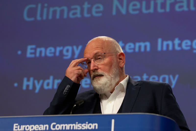 Climate action is Europe's 'roadmap' out of COVID-19 crisis, top official says
