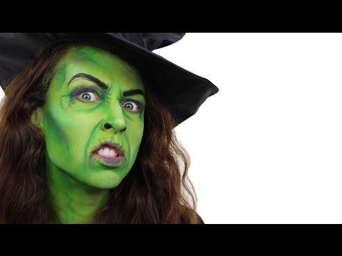 """<p>What gives this witch face such dimension is the two shades of green blended together and accentuating the """"wrinkles"""" around the eyes and mouth. </p><p><a class=""""body-btn-link"""" href=""""https://www.amazon.com/Leg-Avenue-Womens-Large-Ruched/dp/B00JSJSTK2/?tag=syn-yahoo-20&ascsubtag=%5Bartid%7C10050.g.34196559%5Bsrc%7Cyahoo-us"""" target=""""_blank"""">SHOP WITCH HATS</a></p><p><a href=""""https://www.youtube.com/watch?v=t_I-nXlQPsw&feature=emb_title"""">See the original post on Youtube</a></p>"""