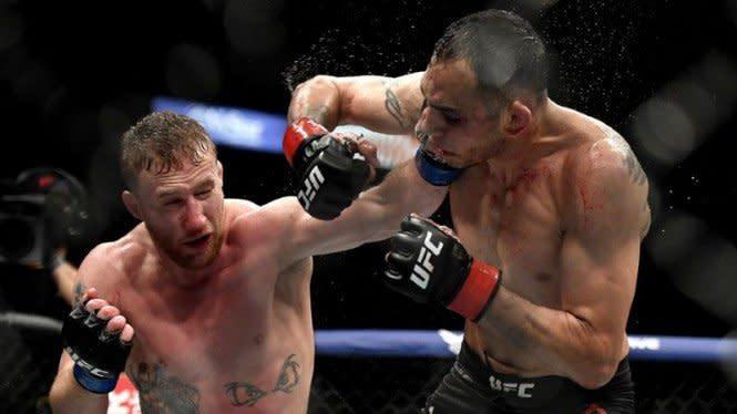 Gila, Justin Gaethje Buang Sabuk Juara UFC