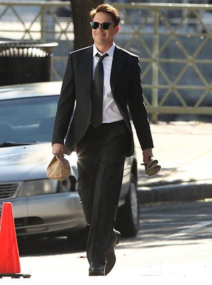 "Exclusive... Robert Downey Jr. Films ""The Judge"""