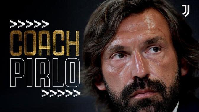 Juventus mengumumkan penunjukkan Andrea Pirlo sebagai pelatih baru. (Dok Juventus)