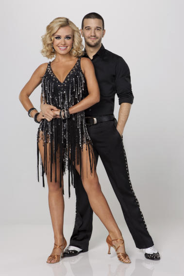 Katherine Jenkins and Mark Ballas
