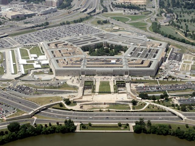 The U.S. Pentagon, seen here on June 15, 2005, was one of the sites a Russian jet was said to have flown over: Jason Reed/Reuters