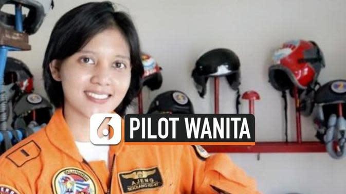 VIDEO: Letda Ajeng, Penerbang Tempur Wanita Pertama TNI AU