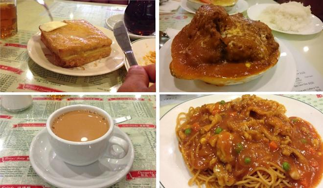 Some of the cha chaan teng fare at the Goldstone Bakery and Restaurant in Vancouver's Chinatown. Photos: Melissa Fong