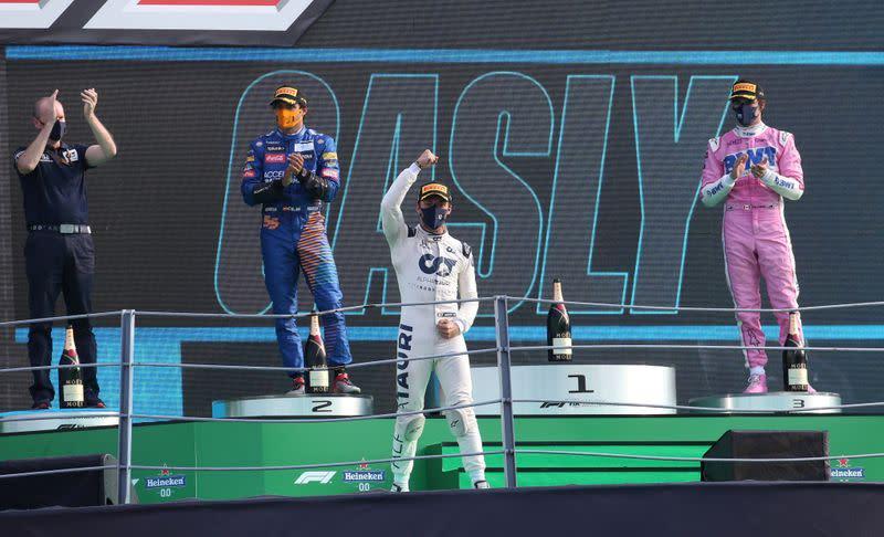 Formula One to revisit reverse grid sprint race plan