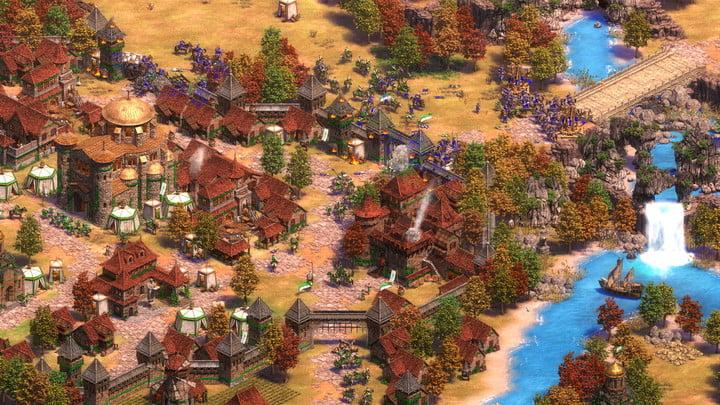 screenshot of age of empires 2 definitive edition on pc
