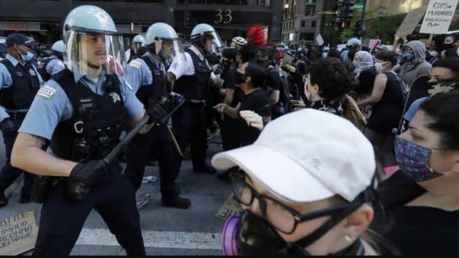 Pascakematian George Floyd Kepolisian Minneapolis Terancam Bubar Jalan