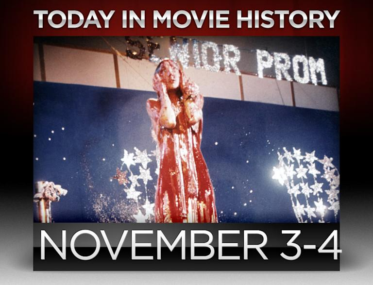 today in movie history, november 3, november 4