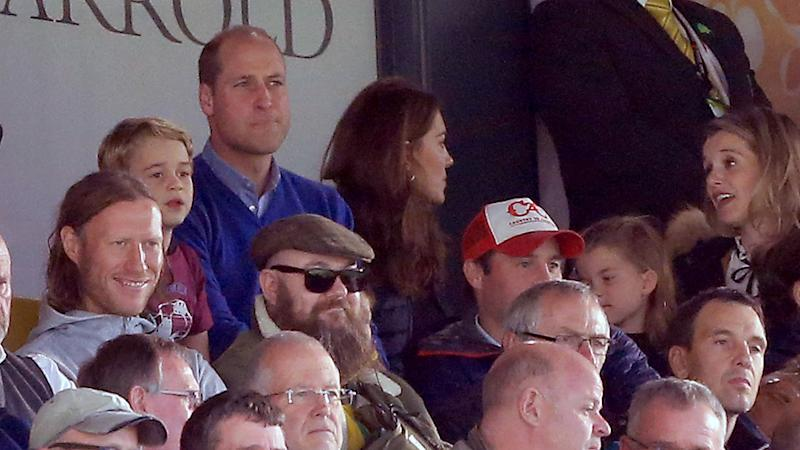 The pair were spotted mingling at the soccer match. Photo: Getty Images