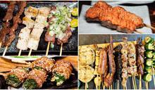 小資族放肆吃!全台28家激省串燒店,必衝東南亞風吃到飽、14元均一價烤肉