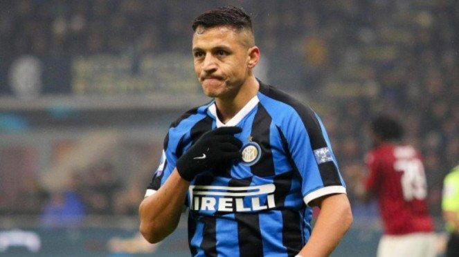 Winger pinjaman Inter Milan dari MU, Alexis Sanchez