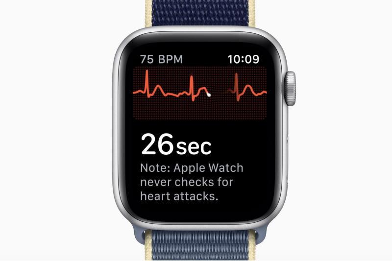 Apple Watch Series 5 EKG