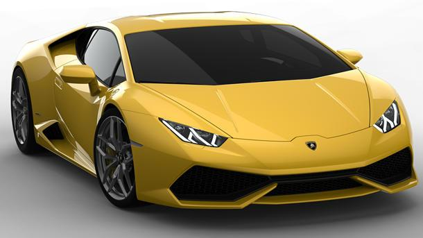 New Lamborghini Huracan revealed as a 610-hp raging bull