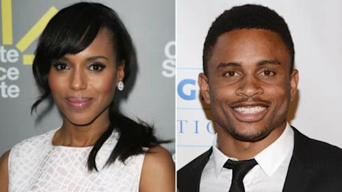 Kerry Washington, Nnamdi Asomugha -- Getty Images