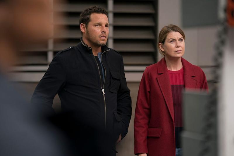 Justin Chambers and Ellen Pompeo | Mitch Haaseth/ABC
