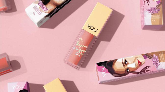 Simak lip cream apa saja yang membuatnya tampil percaya diri (Foto: Y.O.U Makeups)