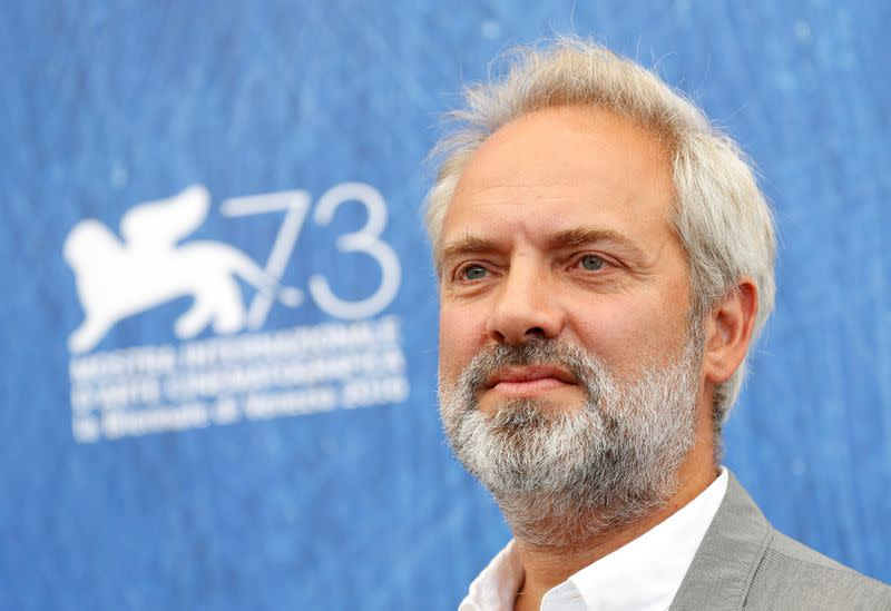 FILE PHOTO: Film director Sam Mendes, chairman of Venezia 73 International Jury, poses for photographers during a photocall at the 73rd Venice Film Festival in Venice