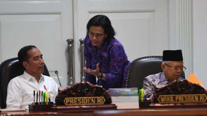Viral Foto Jokowi dan Sri Mulyani Tahun 1998, Pernah Diramal Jadi RI 1