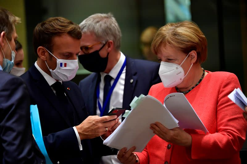 EU leaders in 'home stretch' to recovery deal after days of squabbling