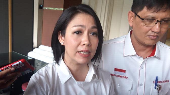 Staf Khusus Presiden Bidang Hukum, Dini Purwono. (Liputan6.com/Muhammad Radityo Priyasmoro)