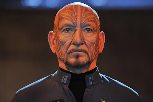 Ben Kingsley Explains 'Ender's Game' Face Tattoo to Jimmy Kimmel (Video)