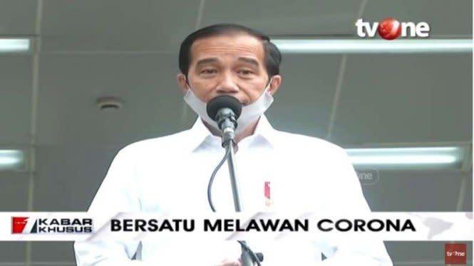 Jokowi: Kasus COVID-19 di Tanah Air Sudah Lampu Merah Lagi