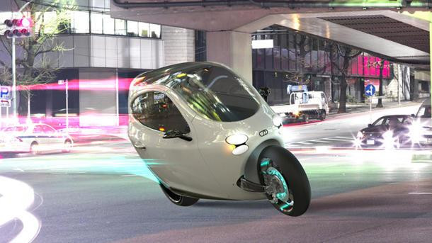 The LIT C1 bets the future of driving on a gyro-balanced two-wheeler