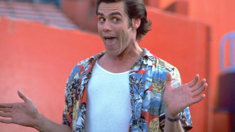 Ace Ventura: Pet Detective, on Netflix