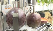 全球第1台!百香果自動取漿機