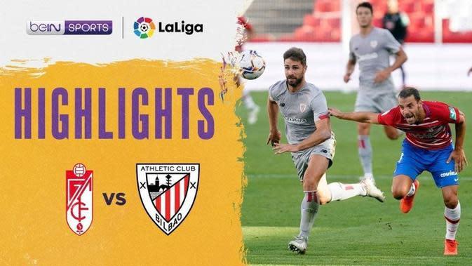 VIDEO: Highlights Liga Spanyol, Granada Kalahkan Athletic Bilbao Dalam Laga Perdana