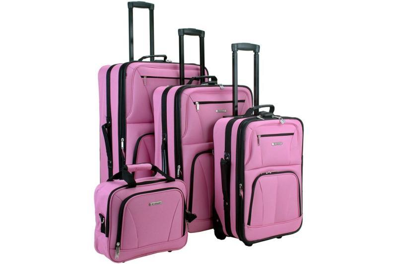 Rockland Luggage Skate Wheels 4 Piece Luggage Set. (Photo: Amazon)