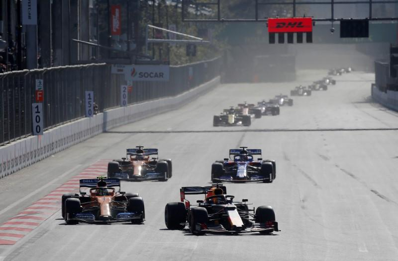 FILE PHOTO: Azerbaijan Grand Prix