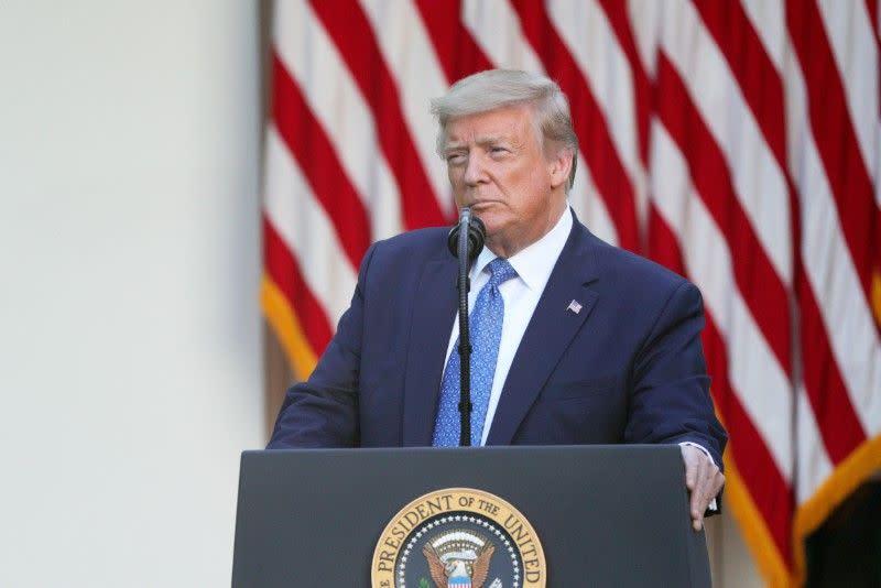 Trump katakan dia kemungkinan tidak akan butuh militer untuk tanggapi protes