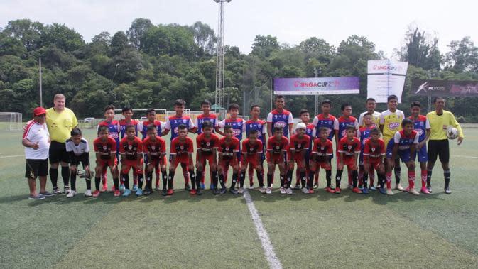 Wakil Indonesia OYST Melaju ke Semifinal Singa Cup 2019