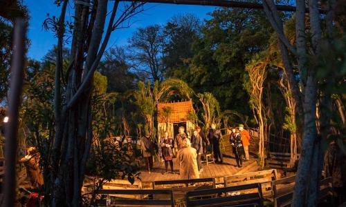 From an earth stage to a willow Globe: theatre goes al fresco in the UK