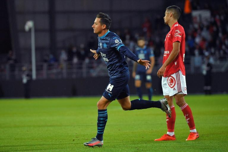 Thauvin lifts virus-afflicted Marseille to win at Brest